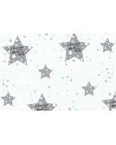 Stars Love You To The Moon Fitted Crib Sheet Blueberrie Kids