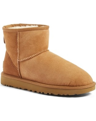 e2ab4bf4c99 UGGR Women's Ugg Classic Mini Ii Genuine Shearling Lined Boot, Size 8 M -  Brown from NORDSTROM | ShapeShop