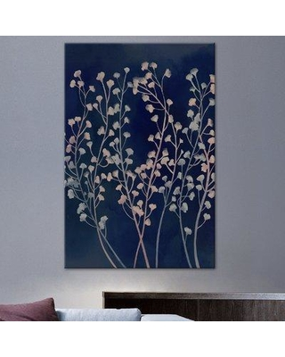 """World Menagerie 'Midnight Haze I' Painting Print on Wrapped Canvas WLDM4382 Size: 30"""" H x 20"""" W x 1.5"""" D"""