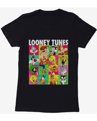 Looney Tunes The Whole Gang Womens T-Shirt