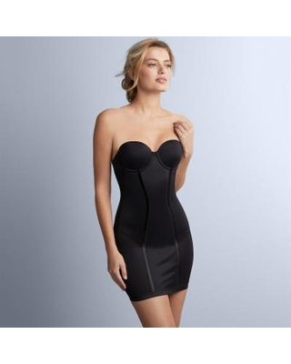 726b635314630 Maidenform Shapewear Easy-Up Firm Control Strapless Slip 2304 - Women s
