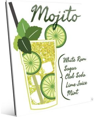 Get this Amazing Shopping Deal on Click Wall Art Glass Mojito ...