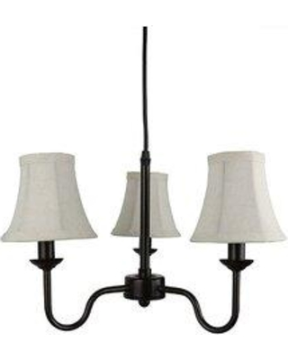 Charlton Home® Elara 3-Light Shaded Classic / Traditional Chandelier X112136750 Finish: Oil-rubbed Bronze