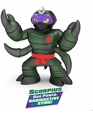 Squishy Tiger Action Figure Heroes of Goo Jit Zu Tygor