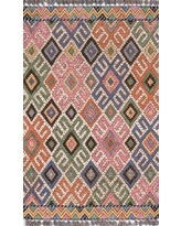 "Union Rustic Wolken Hand-Tufted Wool Pink/Blue Area Rug UNRT1500 Rug Size: Rectangle 3'6"" x 5'6"""