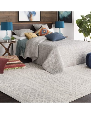 """Chester Grey Area Rug, 5'3"""" X 7'6"""""""