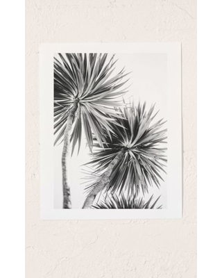 Kate Doherty Monochrome LA Palms Art Print - Assorted 30X40 at Urban Outfitters
