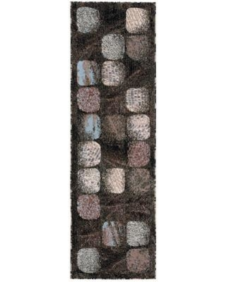 "Red Barrel Studio Duke Black/Brown Area Rug RDBL6696 Rug Size: Rectangle 7'10"" x 10'6"""
