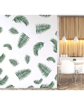 Palm Fronds Wall Decal, Green