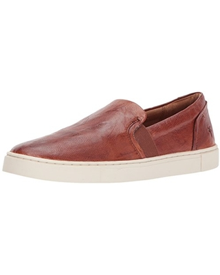 Frye Women's Ivy Slip On Sneaker, Cognac, 9.5 Medium US