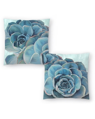 Grasping I and Grasping II Set of 2 Decorative Pillows
