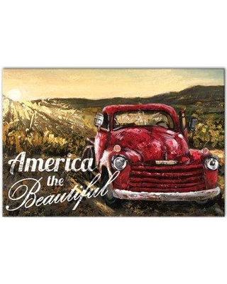 Designs Direct Creative Group 'America the Beautiful' Graphic Art Print on Wrapped Canvas 4790-U
