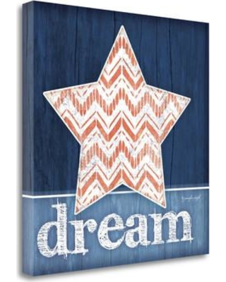 "Tangletown Fine Art 'Dream Star' Graphic Art Print on Wrapped Canvas SBJP4006-2424c / SBJP4006-2020c Size: 24"" H x 24"" W"