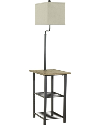 Shianne Floor Lamp Black - (Lamp Only) - Signature Design by Ashley