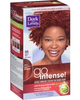 Dark and Lovely Ultra Vibrant Permanent Hair Color - 66 Spicy Red