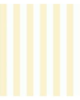 """Highland Dunes Channell Striped 32.7' L x 20.5"""" W Wallpaper Roll HIDN2869 Color: Yellow"""
