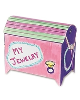 S&S Treasure Chest Craft Kit, 48/Pack,Size: small