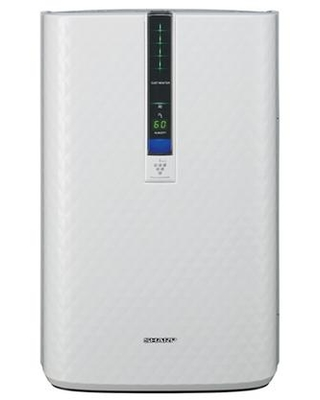 KC850U Plasmacluster Air Purifier with Humidifying Function HEPA Filter Quiet Mode Filter Change Light and Three Fan Speed in