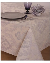 "The St. Pierre Home Fashion Collection Toledo 100% Cotton Tablecloth TOLEDO- Size: 126"" L x 70"" W"