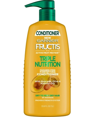 Garnier Fructis Active Fruit Protein Triple Nutrition Fortifying Conditioner - 33.8 fl oz