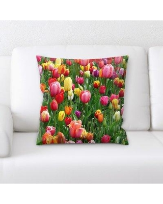 Rug Tycoon Close up Spring Flowers Throw Pillow PW-closeupspringflowers-15