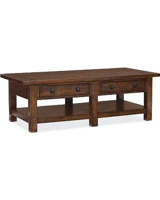 On Sale NOW 20 Off Benchwright Coffee Table Rustic Mahogany