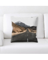 14 Off Latitude Run Romolo A Road To Many Places Throw Pillow Cg246598