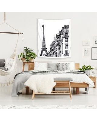 """Microfiber Claudia Liebenberg Tapestry East Urban Home Size: 36"""" H x 26"""" W"""