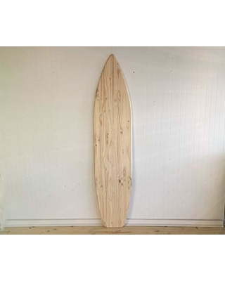 Serendipity Surf Shop 6 Foot Wood Surfboard Wall Art Unfinished Raw Wood From Amazon Bhg Com Shop
