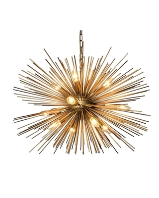 Rockies Containers 12-Light Gold Chandelier