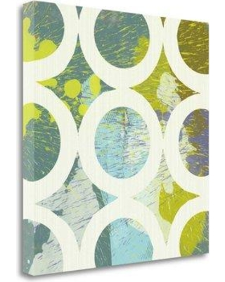 """Tangletown Fine Art 'Circling I' Graphic Art Print on Wrapped Canvas CAMPP165-2020c Size: 23"""" H x 23"""" W"""