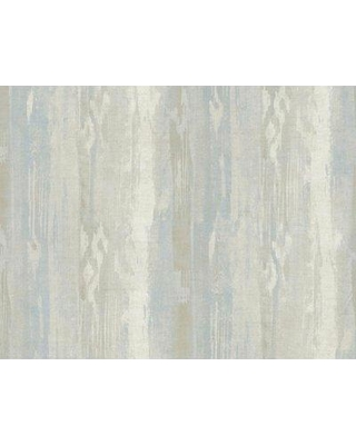 "Union Rustic Matheny 27' L x 27"" W Abstract Wallpaper Roll BF042420 Color: Gray/Blue"