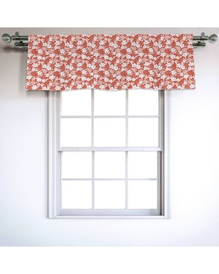"Luau 54"" Window Valance East Urban Home"