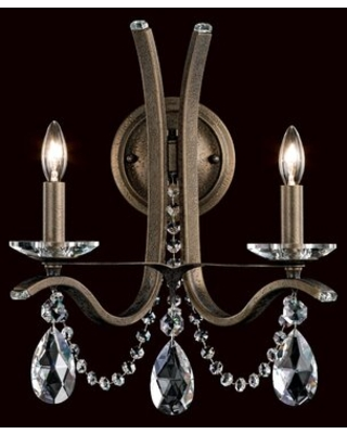 Vesca 12 - Light Candle Style Classic / Traditional Chandelier with Crystal Accents