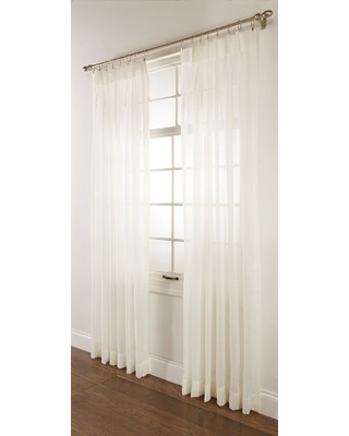 "Stylemaster Splendor Pinch Pleated Drapes Pair, 2 of 72"" by 84"", Beige"