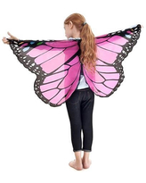 Dreamy Dress-Ups Monarch Wings - Glitter Pink - Imaginative Play for Ages 3 to 5 - Fat Brain Toys