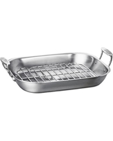 All-Clad Stainless-Steel Flared Roaster, Extra Large