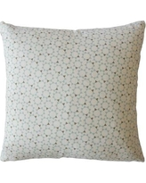 "Bungalow Rose Creede Modern Geometric Down Filled 100% Cotton Throw Pillow BGRS2515 Size: 20"" x 20"", Color: Dew"