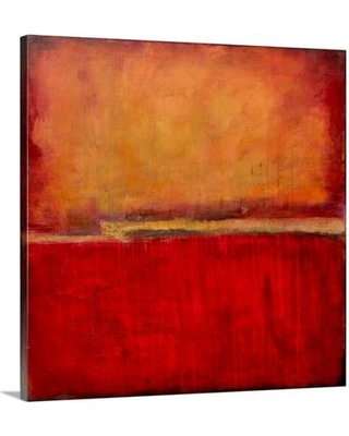 """Canvas On Demand 'Under The Tuscan Sun' by Erin Ashley Painting Print on Canvas 1002110_24 Size: 30"""" H x 30"""" W x 1.25"""" D"""