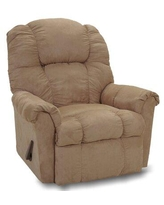 """Alcott Hill® Shawnee 37.5"""" Wide Manual Rocker Standard Recliner Upholstery, Polyester/Polyester Blend in Mocha, Size Small, Size Small (<38"""" wide)"""