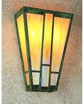 Arroyo Craftsman Asheville 16 Inch Wall Sconce - AS-16-AM-RB