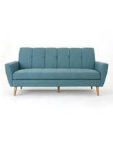 Shop For Ivy Bronx Tifton Mid Century Loveseat Upholstery Polyester Polyester Blend In Charcoal Size 35 L X 61 W X 34 H Wayfair
