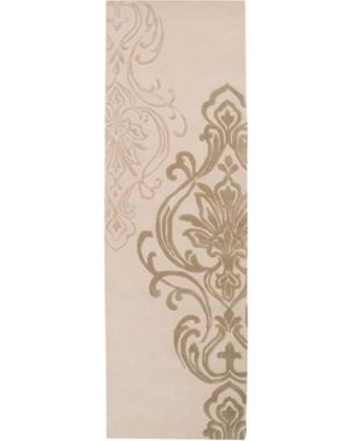 "Ophelia & Co. Gardiner Modern Classics Ivory/Beige Area Rug OPCO3330 Rug Size: Runner 2'6"" x 8'"