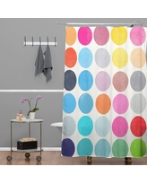 Deny Designs Leah Flores Minty Freshness Shower Curtain 69 x 72