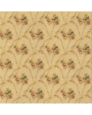 East Urban Home Richmond Floral Wool Brown Area Rug X111822321 Rug Size: Square 4'