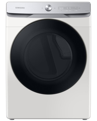 Samsung 7.5-cu ft Stackable Steam Cycle Electric Dryer (Ivory) ENERGY STAR   DVE50A8600E