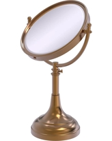 Allied Brass 23 in. x 8 in. Vanity Top Make-Up Mirror 3x Magnification in Brushed Bronze