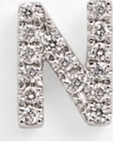 Women's Bony Levy Single Initial Earring (Nordstrom Exclusive)