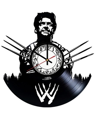 Wolverine Marvel Comics Handmade Vinyl Record Wall Clock - Get unique room wall decor - Gift ideas for his and her – Modern Unique Home Art Design