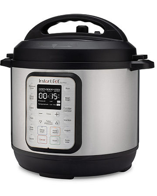 Instant Pot 3qt Duo Plus Electric Pressure Cooker, One Size , Stainless Steel